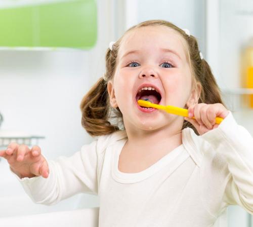 Растем вместе с зубной щеткой